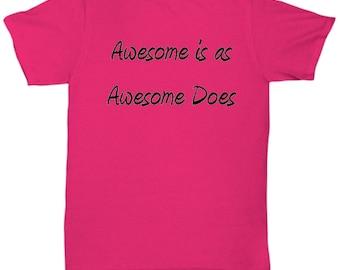 Awesome Pink Tee Shirt