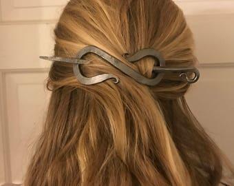 Blacksmith Forged Celtic Hair Pin