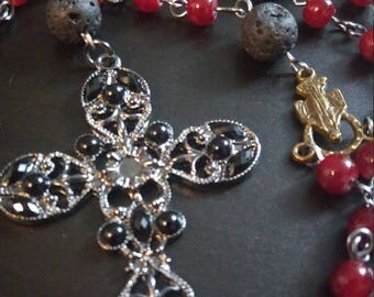 Red & Black Rosary