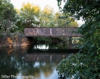 Railroad Bridge Tenney Park