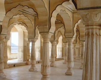Amber Palace - India - Travel Photography - Instant Download