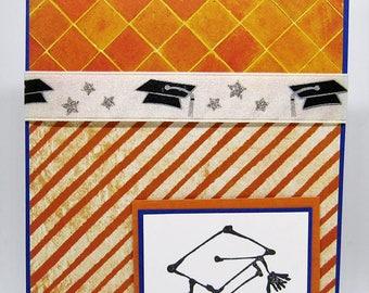 Graduation Card - College Graduation Card - High School Graduation Card - Happy Graduation - Congratulations Graduate Card - Handmade Card