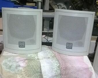 600) four speakers, material, MARTIN Audio model C115
