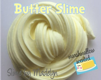 Butter Slime ~ Pastel yellow butter slime