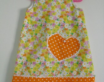 Little pinafore dress size 4t!