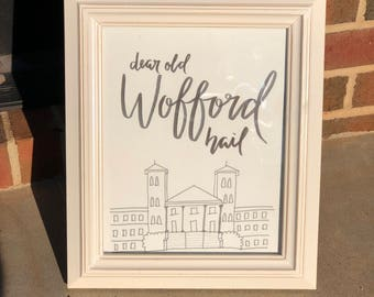Wofford- Old Main