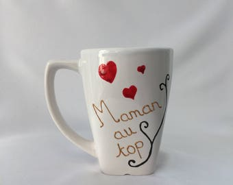 "Cup / Mug ""The best MOM"""