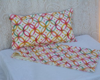 Beautiful lumbar Pillow, Throw Pillow, Center Table Runner, Decorative Pillows, Pillow set of two 12x18, Zipped Pillow,  Couch Pillow.