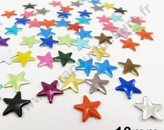 Star Thermo - MULTICOLORED - 10mm - x 50pcs