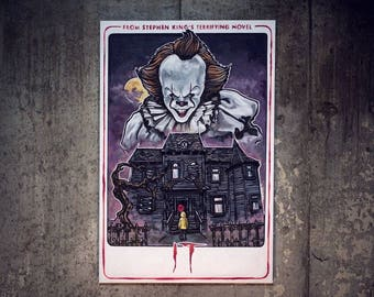 it custom minifigure lego compatible pennywise the dancing you ll float too poster it the movie pennywise the dancing clown
