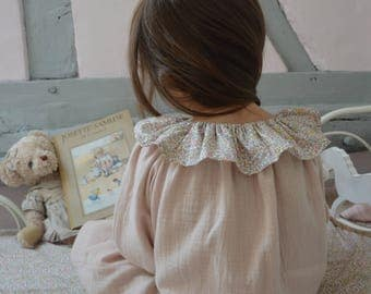 Nightgown lange and nude pink liberty