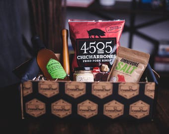 Gourmet Food Basket Gift Box for Foodies House Warming Cooks