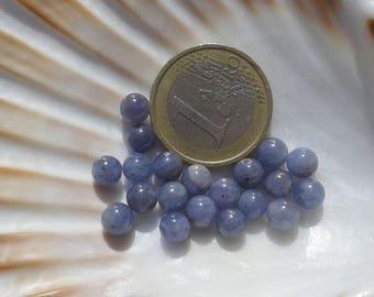 rare!! AAA Tanzanite 6mm Round Beads