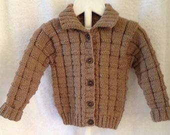 Brown jacket size 6 months