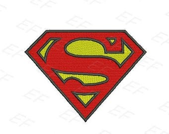 Machine Embroidery design - Superman Embroidery design - instant download digital file