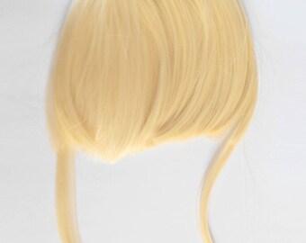 """Fringe clips """"light blond Marilyn"""""""