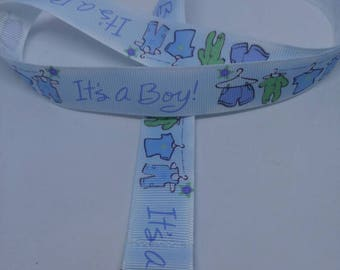 Wrist strap for badge it's a boy / it's a boy