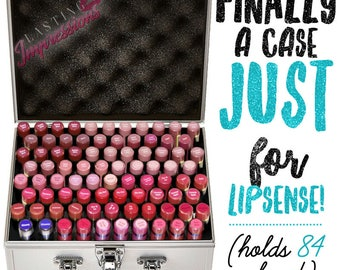 The Best LipSense Case Ever! SMALL Version - Holds 84 Colors!!