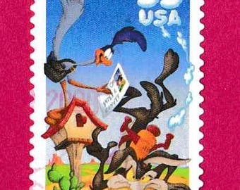 Road Runner and Wile E Coyote-Wiley coyote-wile coyote-wile e coyote art-warner brother-loon tunes-warner brothers wile e coyote-road runner