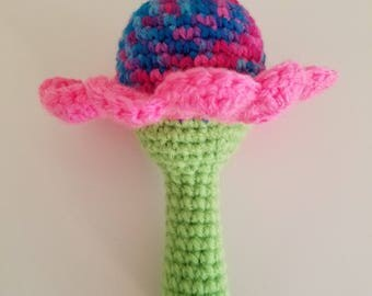 Flower Baby Rattle