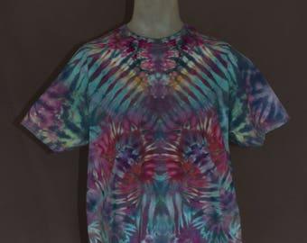 Handmade Ice Dyed T-Shirt: X-Large