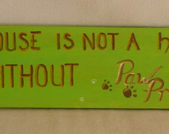 "28"" X 8"" hand painted sign"