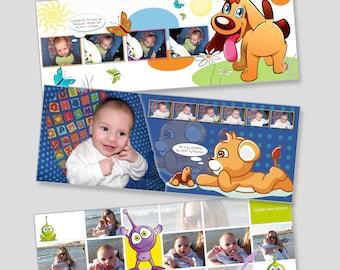 digital baby album 30x80 cm
