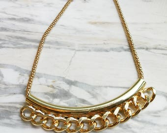 Chunky Link Necklace - N13