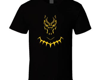 Black Panther Shirt 100% Cotton MADE IN USA