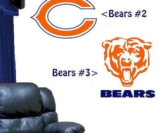 Chicago Bears Design #2 Or #3 Vinyl DECAL For Your Car Truck Window Wall Part 69
