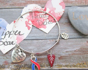 CHD You are Always in my Heart Bangle Bracelet