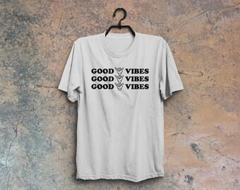 Good vibes tshirt, good vibes tee, good vibes only, good mood tshirt