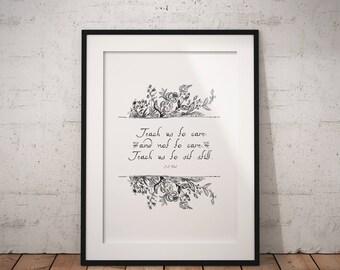 T.S. Eliot Quote Printable