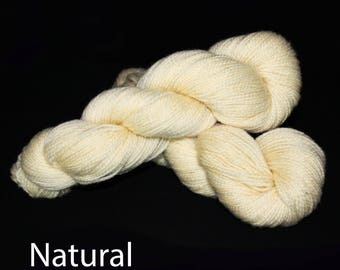 All Natural Undyed DK Weight 100% Wool Yarn