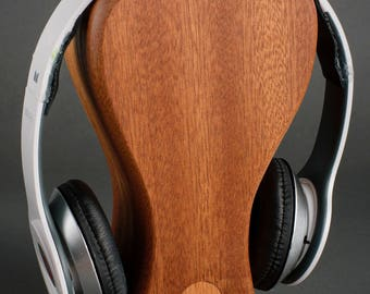 Solid Wood Headphone Stand
