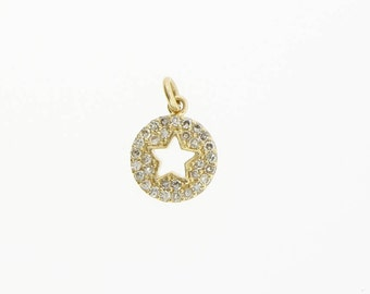 Star in Disk Charm