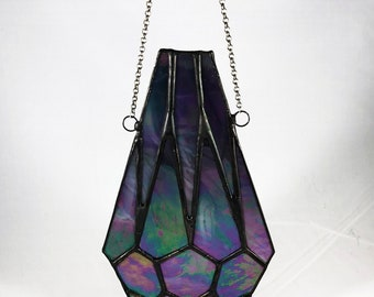 Stained Glass Crystal Teardrop