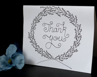 Thank You cards- Set of 5