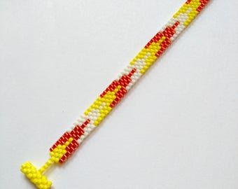Bracelet | Tissage Peyote - Perles Miyuki