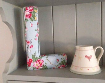 Fabric Letter L in Cath Kidston