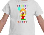Clown Shirt, Birthday Shi...