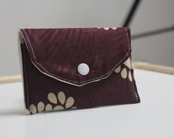 Wallet - African fabric, ankara, business card case