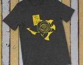 Yellow Rose of Texas Shirt, Womens Texas Shirt, Texas T-Shirt, Gift for Texan, Gift for Wife
