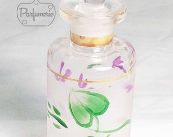 Handpainted Apothecary Glass Stopper 100ml Potion PERFUME Cologne Bottle Gift Wholesale Oil Blend Bottle Beautiful Holiday Gift