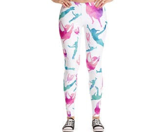 Wendy & Peter Pan Watercolor Leggings//Disney Inspired//Women's Leggings