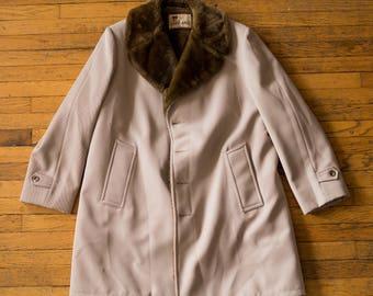 Vintage Cream Lakeland Collared Coat