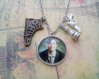 Criminal minds necklace, Spencer Reid necklace