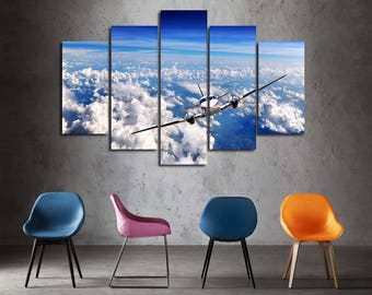 Aircraft Canvas Plane Aviation Canvas Aircraft print Aircraft Wall Decor Aircraft poster Airplane Decor Aircraft Decor Aviation Wall Decor