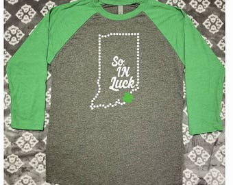 DIGITAL FILE - So. IN Luck Indiana St. Patrick's Day