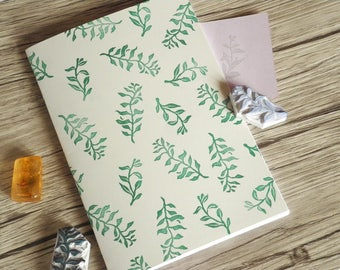 Green Leaves Notebook!